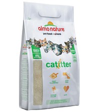 Almo Nature Cat Litter lettiera igienica super ecologica e assorbente cattura odori smaltibile nel WC